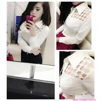 Bộ sưu tập áo sơ mi nữ công sở cao cấp đa chất liệu phom cực đẹp AS225