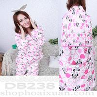 Đồ bộ pijama mặc nhà cotton hình chuột mickey - DB238