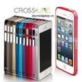 Bumper Cross Line iphone 5S, 5 nhôm cao cấp tuyệt đẹp