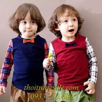 Áo thun dài tay bé trai BB250