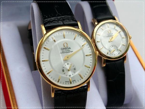 Đồng hồ nam Omega - dây da phong cách thể thao 3