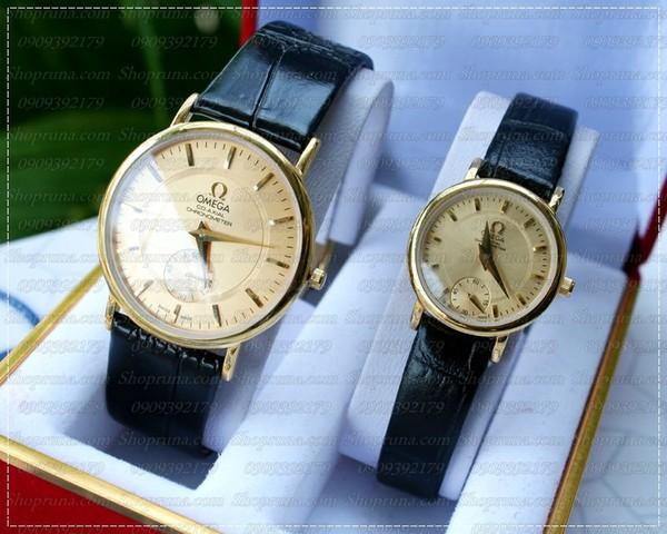 Đồng hồ nam Omega - dây da phong cách thể thao 2