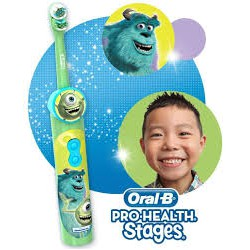 Bàn Chải Pin Oral-B Disney Hình Monsters