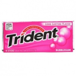 Kẹo cao su Chewing gum Trident vị dâu