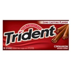 Kẹo cao su Chewing gum Trident vị quế the