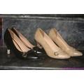 Giày cao gót da bóng mũi khoen tết bính sành điệu GCG37
