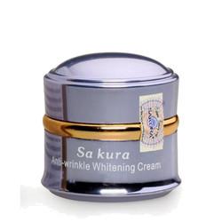 Kem Dưỡng Trắng Da Chống Lão Hóa Anti-Wrinkle Whitening Cream Sakura
