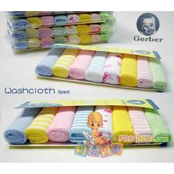Combo 16 khăn sữa Gerber