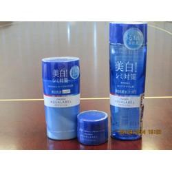 Bộ Sản Phẩm Chăm Sóc và làm Trắng Da Shiseido Aqualabel màu Xanh