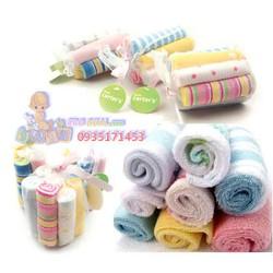 Combo 16 khăn sữa Carters mềm mịn