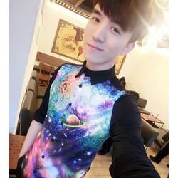 áo sơmi nam hình vũ trụ Mã: NM411