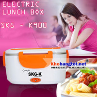 Hộp cơm điện inox đa năng cao cấp CHLB Đức SKG-K900 - Thế hệ mới