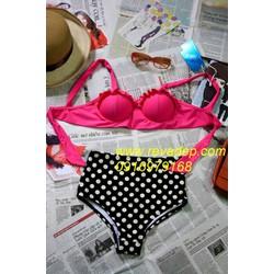 Bộ bikini cạp cao 01