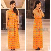 Đầm Maxi Bướm Xinh KRDM05