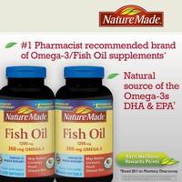 Dầu cá Omega 3 Nature Made của Mỹ