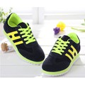 Giày bata nữ chữ H màu xanh đẹp