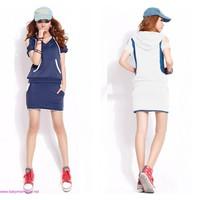 Bộ quần áo thể thao thanh lịch ,phối màu năng động giá rẻ mùa hè SU245