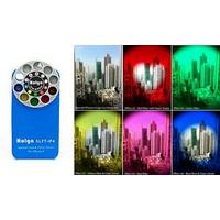 Bộ Lens Filter Kit - Ốp Lưng Iphone4, 4s Với 10 Khung Hình