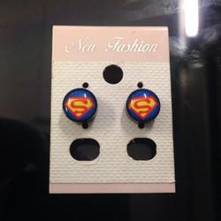 [Greenlife Shop] BT333 - Khuyên tai hit Superman