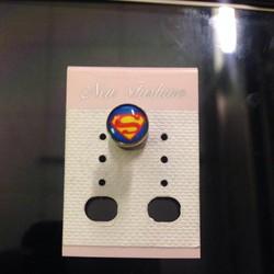 [Greenlife Shop] BX336 - Khuyên tai Superman Xanh