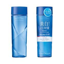 Nước hoa hồng Shiseido Aqualabel White Up Lotion màu xanh làm trắng da