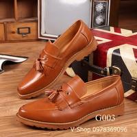 Giày lười da G003