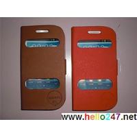 Bao da S3 Mini cao cấp, Case S3 Mini Hàn Quốc:  OLS18