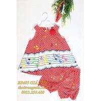 Bộ cotton Thái Lan bé gái BB485