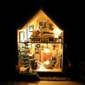 NK 0606 _ Mô hình nhà gỗ DIY _ Nhà ven biển Romantic Agean Miniature