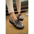 Giày bánh mì họa tiết thổ cẩm - G028
