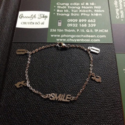Lắc tay Smile