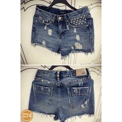 Quần sort jeans rách - 7841