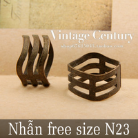 Nhẫn free size N23 combo 2