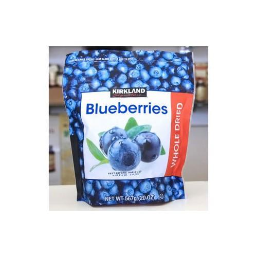 Trái việt quốc sấy khô - blueberries - kirkland