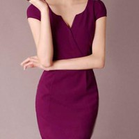 Đầm công sở Violet thanh lịch - MD629
