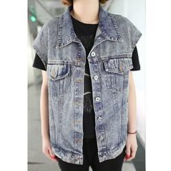 Áo khoác jeans ghile sát nách Mã: AO1287