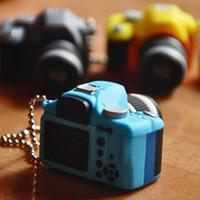 Móc khóa máy ảnh mini - camera world