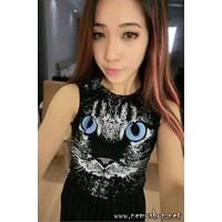Đầm váy tiger - 3531