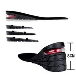 Lót giày tăng chiều cao không khí nguyên bàn 8 cm