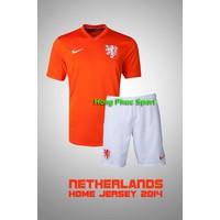 Bộ quần Áo tuyển Hà Lan World Cup 2014 sân nhà