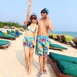 Quần cặp đôi đi biển mùa hè