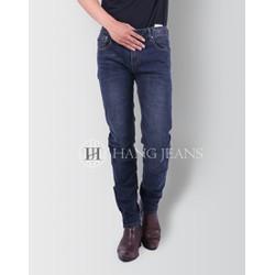 Quần jeans nam ống côn mài nhẹ màu chì đậm AT5101