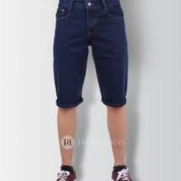 Quần jeans ngố trơn đậm S2011