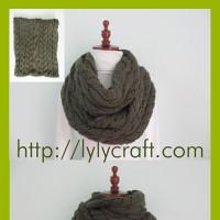 Khăn ống len đan tay cho nữ - Handmade