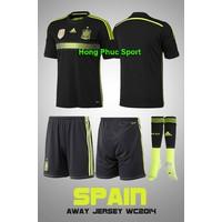 Bộ quần Áo tuyển Tây Ban Nha sân khách World cup 2014