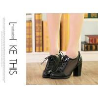 Giày Boot Trong Suốt Phá Cách G018