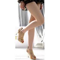 Giày lưới kim tuyến nữ quý phái