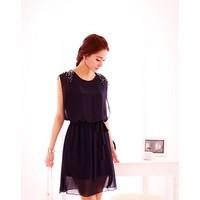 Đầm Vintage Kết Cườm