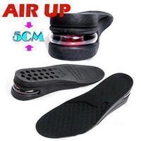 Lót giày tăng chiều cao không khí nguyên bàn 5 cm 1 bộ