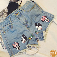 Quần sort jeans Mickey - 7981